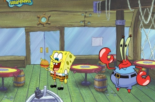 Spongebob And Crab Picture for Widescreen Desktop PC 1920x1080 Full HD