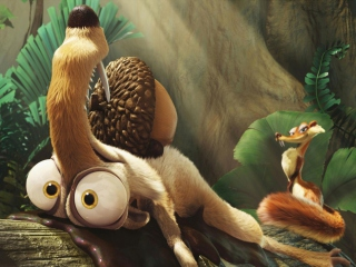Ice Age Scrat Background for Android, iPhone and iPad