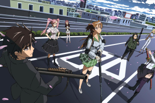 Highschool of The Dead - Fondos de pantalla gratis para HTC One V