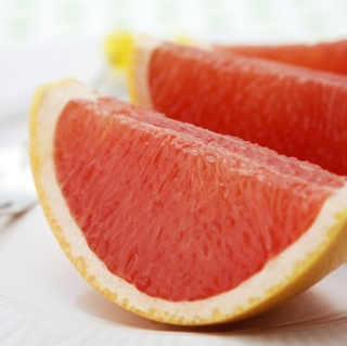 Free Grapefruit Slices Picture for iPad mini