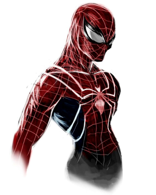 Spiderman Poster Wallpaper for Nokia Asha 305