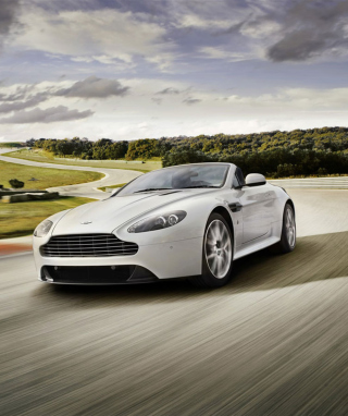 Aston Martin Vantage S Wallpaper for Nokia Asha 300
