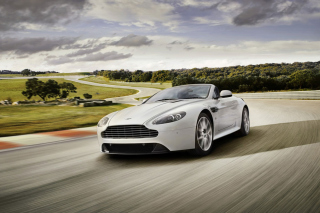 Aston Martin Vantage S Wallpaper for 480x320