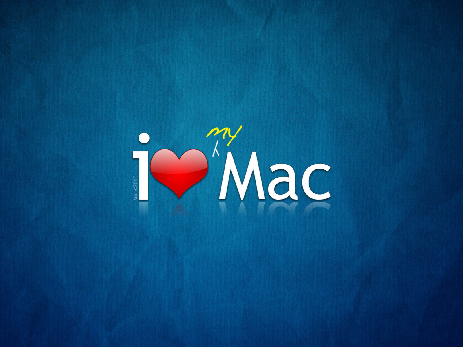 Sfondi I love Mac 1600x1200