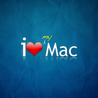I love Mac sfondi gratuiti per iPad mini