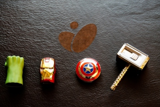 Avengers USB Flash Drives Background for Android, iPhone and iPad