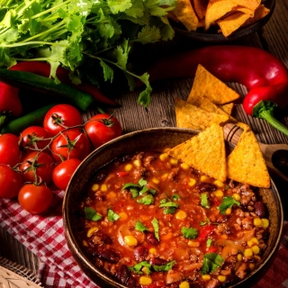 Chilli Mexican Carne sfondi gratuiti per iPad mini