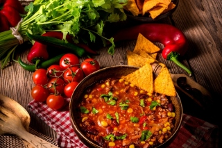 Chilli Mexican Carne Wallpaper for Android, iPhone and iPad