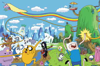 Adventure time Background for Android, iPhone and iPad