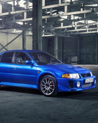 Mitsubishi Lancer Evolution 6 sfondi gratuiti per iPhone 6 Plus