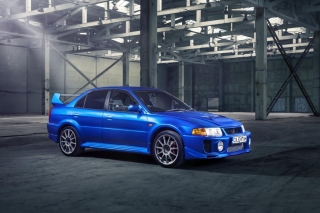 Mitsubishi Lancer Evolution 6 Background for Android, iPhone and iPad