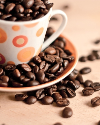 Coffee beans Wallpaper for 240x320