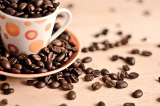 Coffee beans Wallpaper for Android, iPhone and iPad
