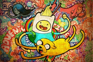 Adventure Time Animation Wallpaper for Android, iPhone and iPad