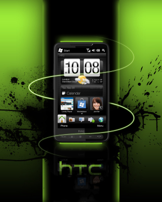 HTC HD Background for iPhone 4S