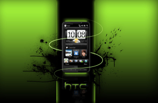 HTC HD Background for Android, iPhone and iPad