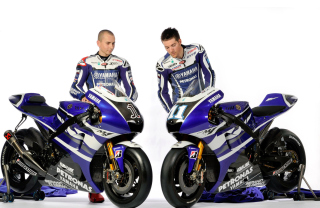 Jorge Lorenzo And Ben Spies Picture for Android, iPhone and iPad