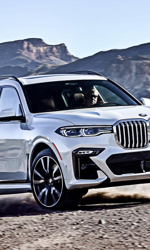 2019 BMW X7 screenshot #1 480x800