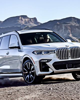 2019 BMW X7 Wallpaper for Nokia Asha 310