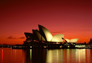 Sydney Opera House - Australia Background for Android, iPhone and iPad