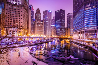Illinois Chicago Background for Android, iPhone and iPad