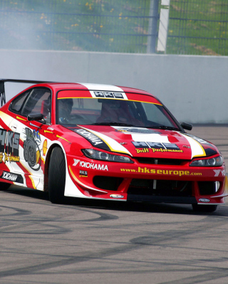 Nissan Silvia S15 Wallpaper for Nokia Asha 311