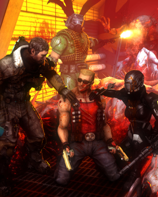 Call of Duty Zombies Picture for Nokia Asha 306