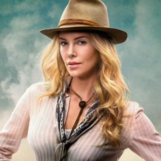 Charlize Theron In A Million Ways To Die In The West - Obrázkek zdarma pro 1024x1024