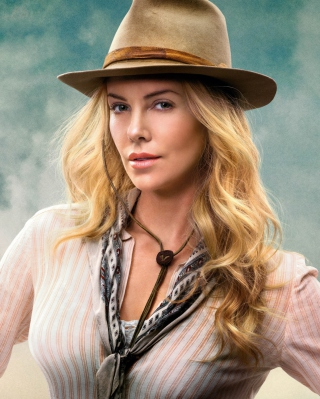 Charlize Theron In A Million Ways To Die In The West - Obrázkek zdarma pro 320x480
