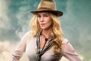 Charlize Theron In A Million Ways To Die In The West - Obrázkek zdarma pro 320x240