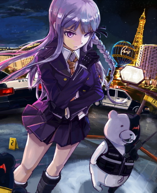 Dangan Ronpa: Academy of Hope and High School Students of Despair Background for HTC Titan
