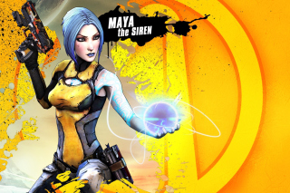 Maya the Siren, Borderlands 2 - Fondos de pantalla gratis