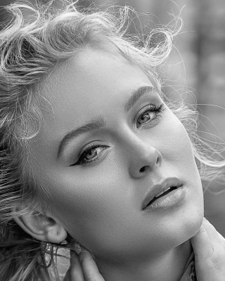 Zara Larsson Swedish singer Background for 240x320