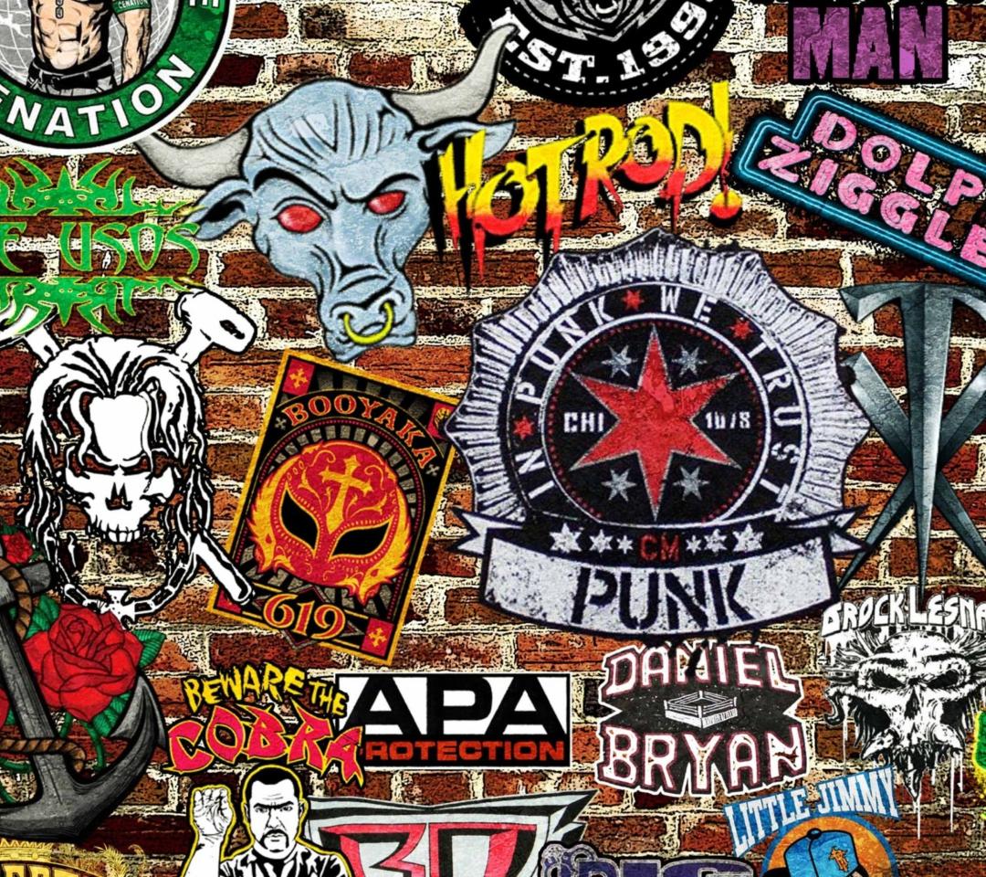 WWE Logos: Hot Rod, Punk para Motorola RAZR XT910
