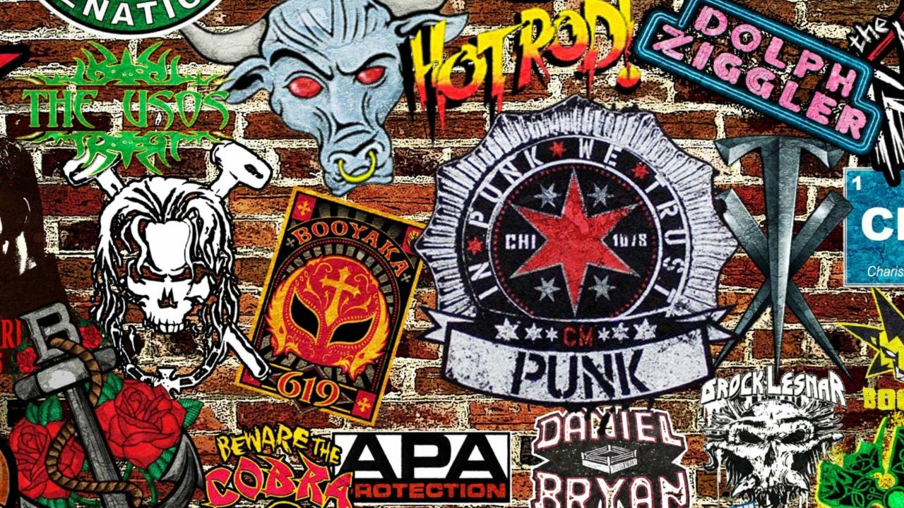 WWE Logos: Hot Rod, Punk