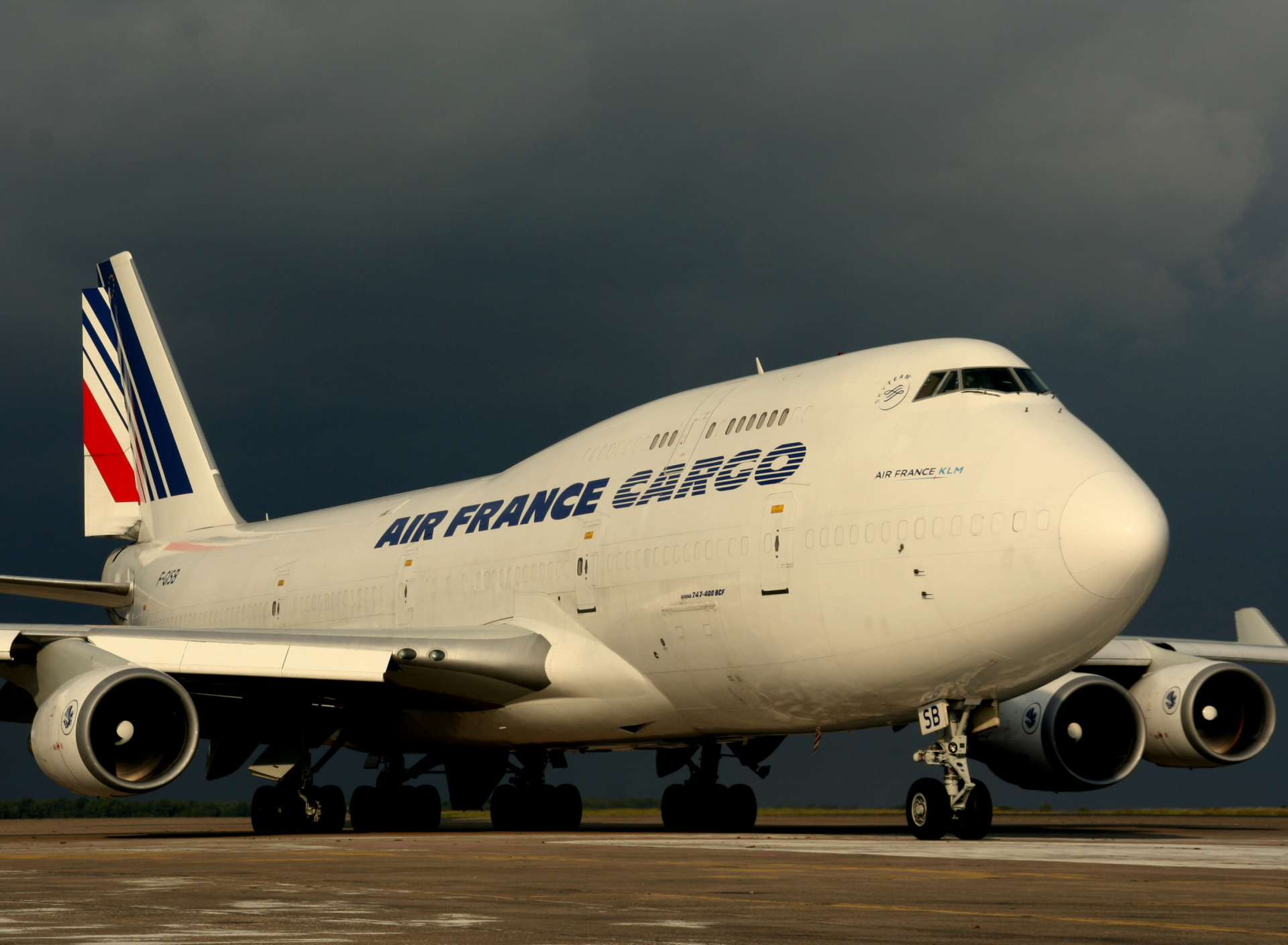 Screenshot №1 pro téma Boeing 747 400 Air France 1920x1408