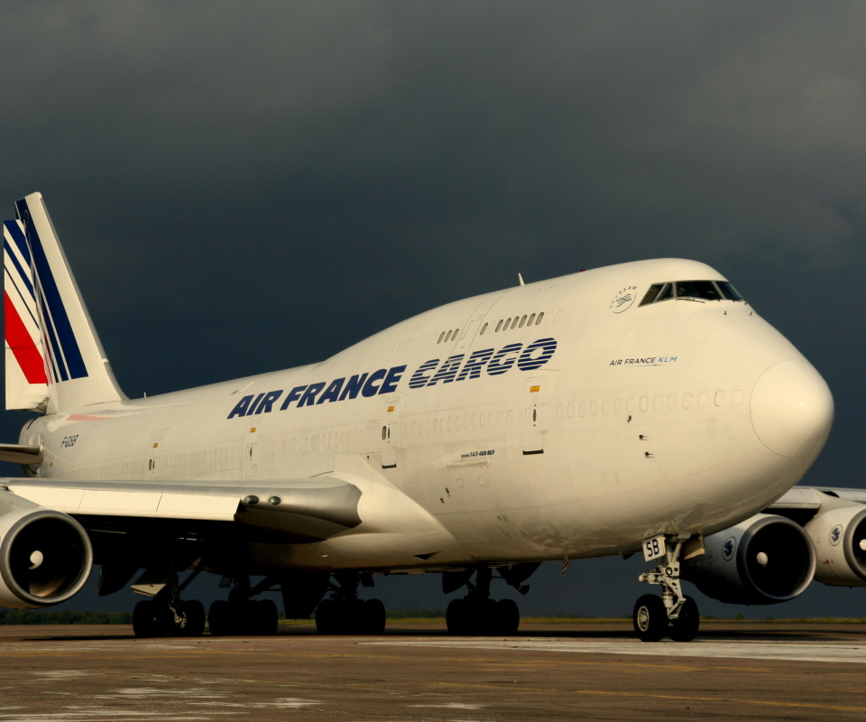 Screenshot №1 pro téma Boeing 747 400 Air France 960x800
