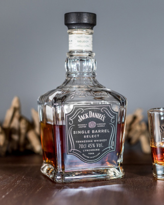 Kostenloses Jack Daniels Single Barrel Wallpaper für 320x480
