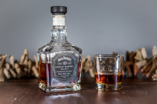 Jack Daniels Single Barrel papel de parede para celular para Google Nexus 7