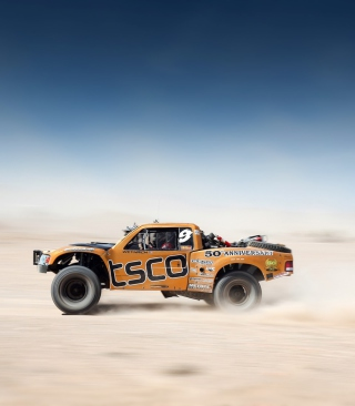 Off Road Tracing Truck Picture for Nokia C-5 5MP