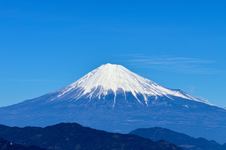 Fuji Volcano Picture for Android, iPhone and iPad