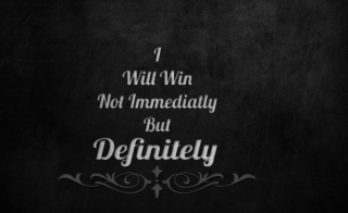 I Will Win Wallpaper for Android, iPhone and iPad