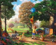 Thomas Kinkade, Winnie-The-Pooh para 220x176