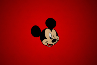 Mickey Winking Wallpaper for 1280x1024