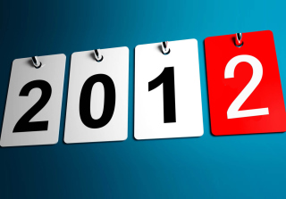New Year 2012 Wallpaper for Nokia Asha 205
