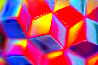 Colorful Cubes 3D Picture for Android, iPhone and iPad