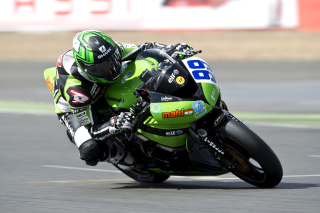 Kawasaki Racing Team Picture for Android, iPhone and iPad