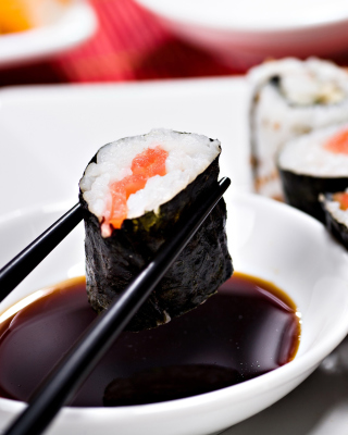 Free Sushi and Chopsticks Picture for HTC Titan