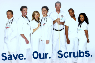 Save Our Scrubs Background for Android, iPhone and iPad