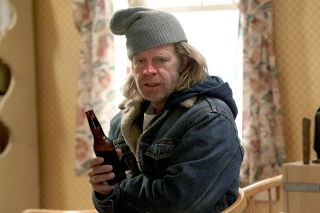 Frank Gallagher in Shameless Wallpaper for HTC Desire HD